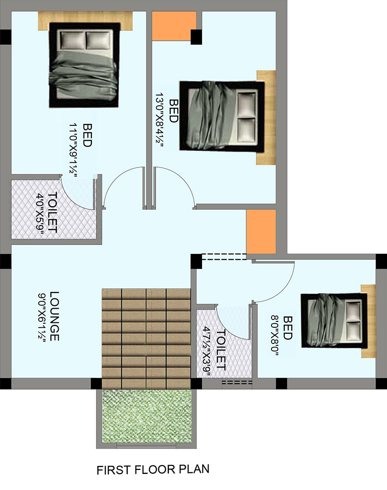 Small house plans in chennai under 200 sq ft small house for 100 sq ft house plans